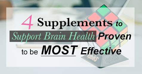 4 Supplements to support brain health proven to be MOST effective